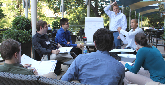 Study group at 2012 Innovators Forum
